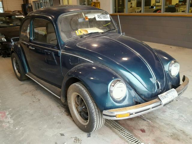 Auto Auction Ended on VIN: 118099861 1968 Volkswagen Beetle