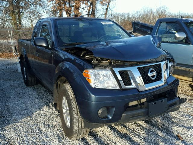 2016 nissan frontier sv for sale mo springfield salvage cars copart usa. Black Bedroom Furniture Sets. Home Design Ideas