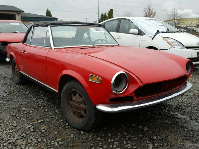 auto auction ended on vin: 124bs0030919 1970 fiat spider 124 in