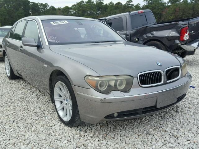 2004 BMW 745 LI 44L