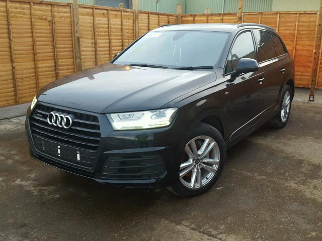 2016 audi q7 for sale at copart uk salvage car auctions. Black Bedroom Furniture Sets. Home Design Ideas