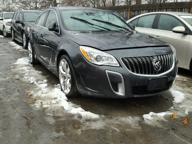 Auto Auction Ended On Vin 2g4gt5gxxh9159661 2017 Buick Regal Gs In