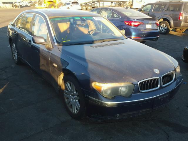 WBAGNDR BLUE BMW LI On Sale In CA VAN NUYS - 745 bmw li
