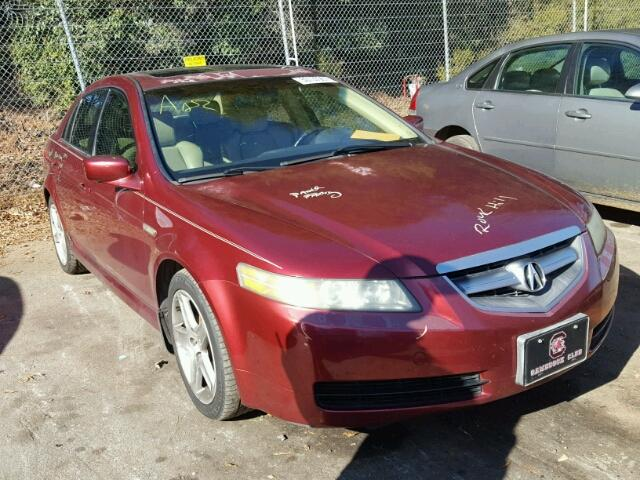 ACURA TL For Sale NC CHINA GROVE Salvage Cars Copart USA - 2004 acura tl for sale by owner