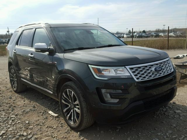 2016 ford explorer platinum for sale in indianapolis salvage cars copart usa. Black Bedroom Furniture Sets. Home Design Ideas