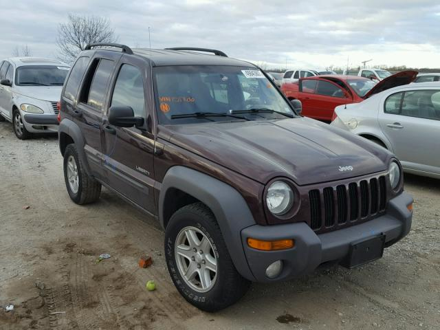 Salvage 2004 Jeep LIBERTY SP for sale