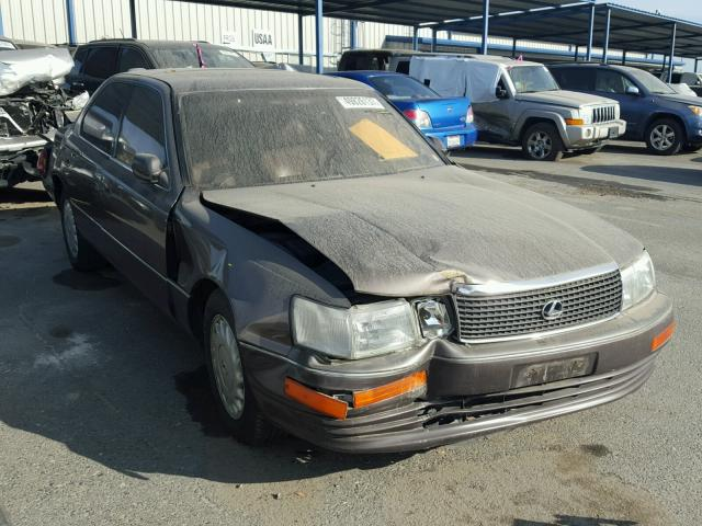 1990 lexus ls 400 for sale ca sacramento salvage. Black Bedroom Furniture Sets. Home Design Ideas