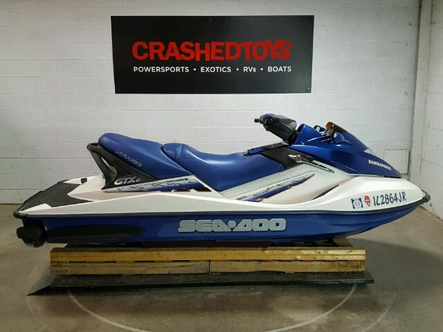 Salvage 2002 Seadoo BOMBARDIER for sale