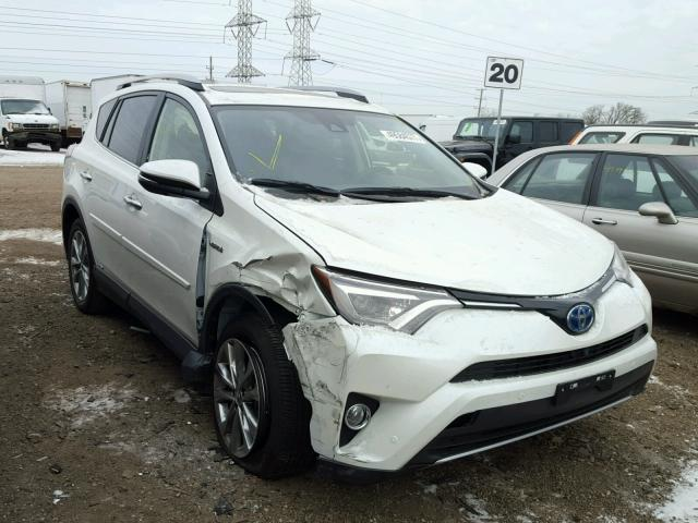 2017 toyota rav4 hv limited for sale il chicago north salvage cars copart usa. Black Bedroom Furniture Sets. Home Design Ideas