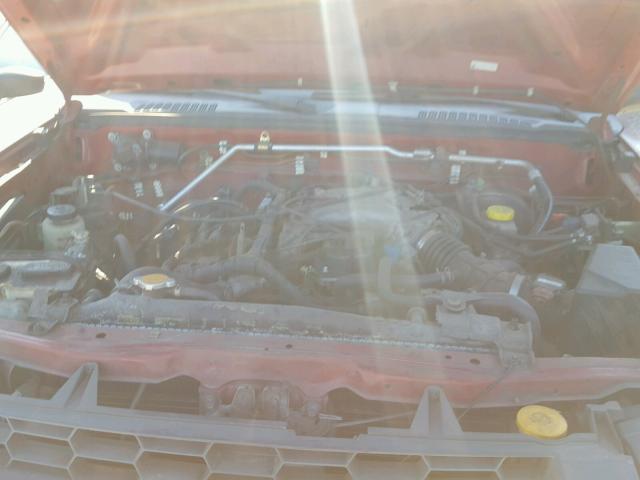 2002 NISSAN XTERRA XE 3.3L