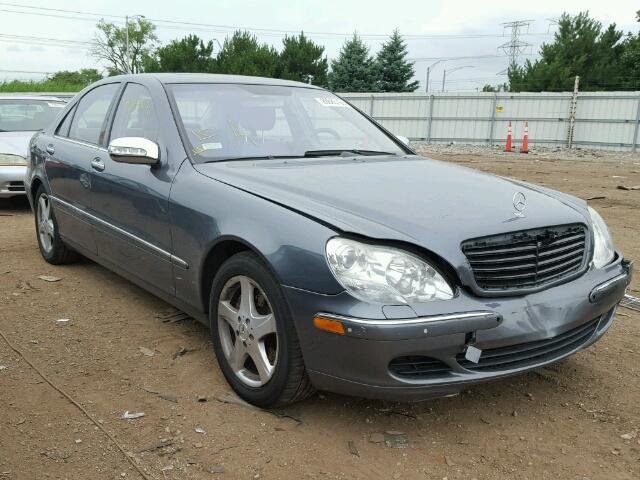 WDBNG84J95A456419 - 2005 MERCEDES-BENZ S500 4MATI