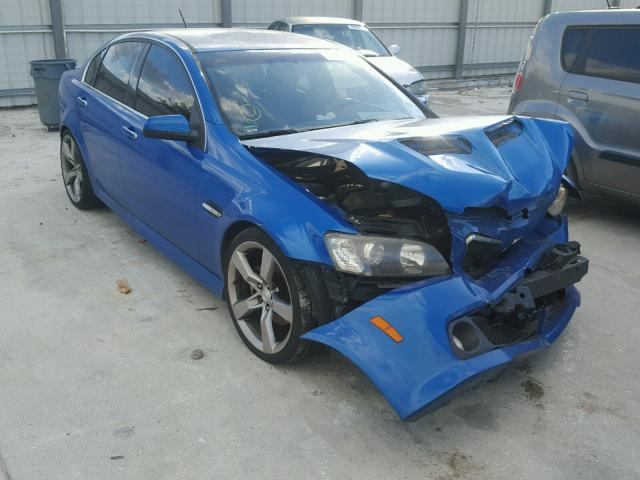 2009 pontiac g8 gt for sale fl punta gorda salvage. Black Bedroom Furniture Sets. Home Design Ideas