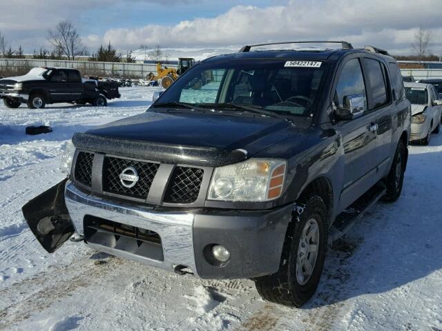 2004 Nissan Armada Se Rear End Damage 5n1aa08b54n708630 Sold
