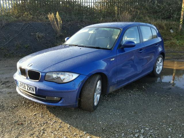 2008 bmw 118d se au for sale at copart uk salvage car auctions. Black Bedroom Furniture Sets. Home Design Ideas