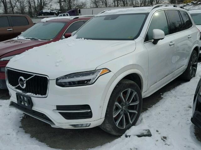 yv4a22pk1h1139879 2017 white volvo xc90 t6 on sale in ny newburgh lot 50210777. Black Bedroom Furniture Sets. Home Design Ideas