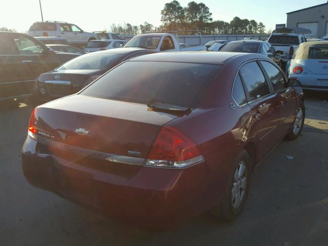 2G1WT58K181312597 - 2008 CHEVROLET IMPALA LT 3.5L rear view
