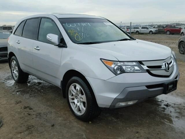 2009 acura mdx technology for sale tx houston salvage cars copart usa. Black Bedroom Furniture Sets. Home Design Ideas
