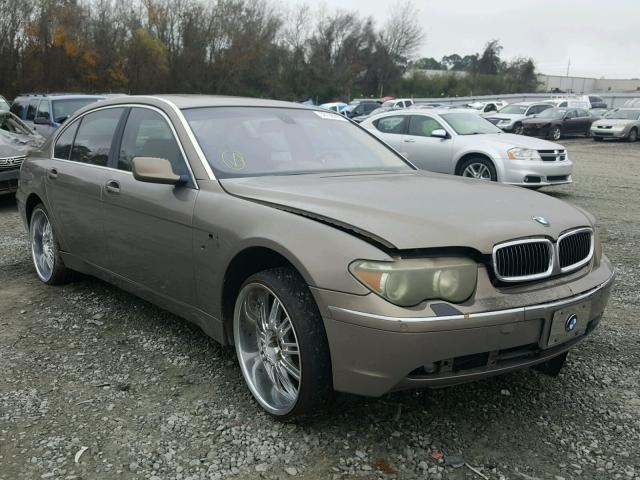 Auto Auction Ended On VIN WBAWRCAP BMW In VA - 745 bmw 2010