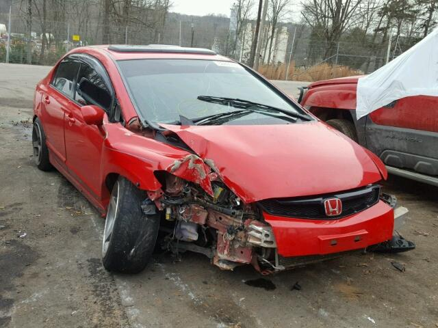 2008 honda civic si for sale nc china grove salvage cars copart usa. Black Bedroom Furniture Sets. Home Design Ideas