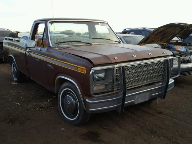 Auto Auction Ended On Vin F15gpka0761 1981 Ford F150 In Co Denver