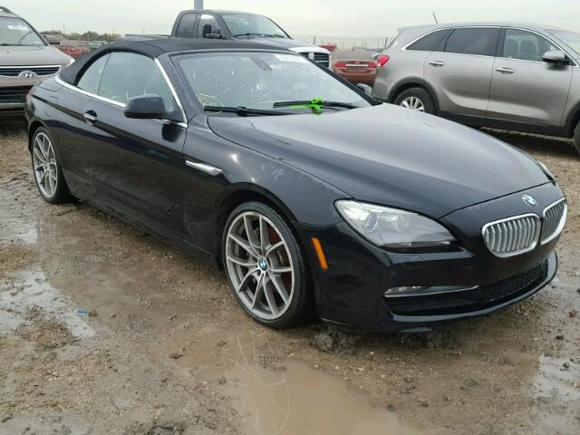 Auto Auction Ended On VIN WBALZCCDL BMW In TX - 650 bmw 2012