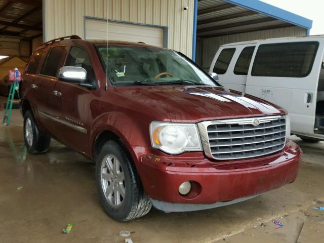 Auto Auction Ended On Vin 1a8hx58p87f560474 2007 Chrysler Aspen