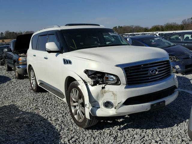 2012 infiniti qx56 for sale tn memphis salvage cars copart usa. Black Bedroom Furniture Sets. Home Design Ideas