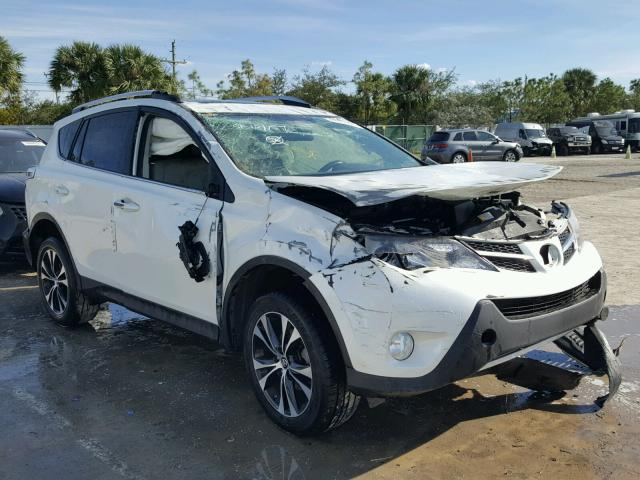 2015 toyota rav4 limited for sale fl west palm beach salvage cars copart usa. Black Bedroom Furniture Sets. Home Design Ideas