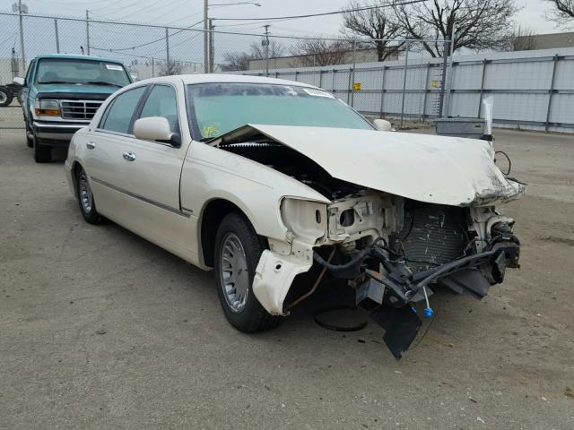 2002 Lincoln Town Car Cartier For Sale Oh Dayton Salvage Cars