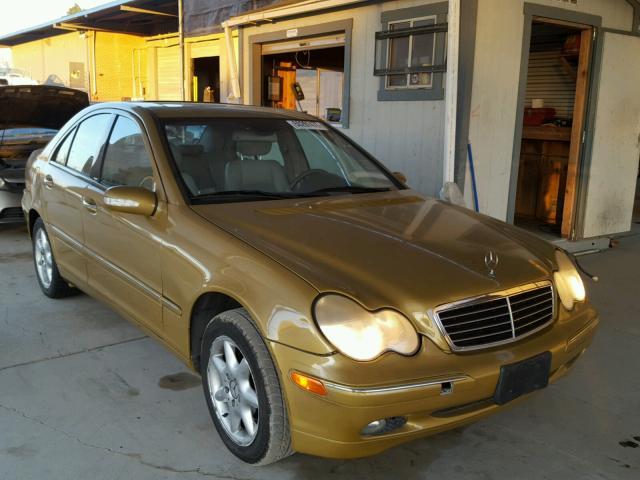 2002 MERCEDES-BENZ C 240 2.6L