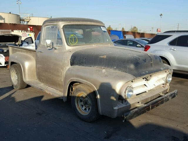 Ford F100 salvage cars for sale: 1953 Ford F100