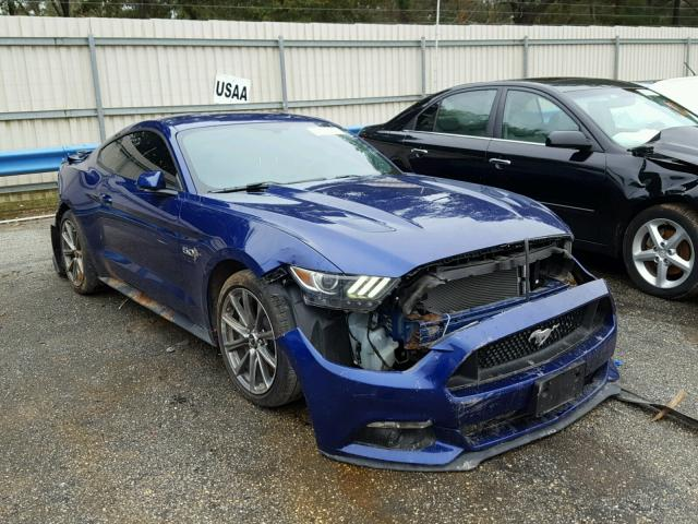 2016 ford mustang gt for sale al mobile salvage cars copart usa. Black Bedroom Furniture Sets. Home Design Ideas