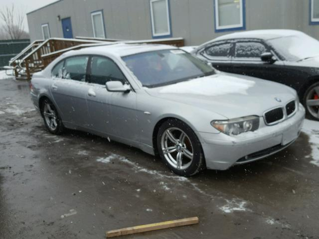 Auto Auction Ended On VIN WBAGNDS BMW LI In PA - 745 bmw li