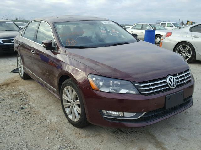 2013 Volkswagen Passat Sel For Sale Ks Kansas City Salvage Cars Copart Usa