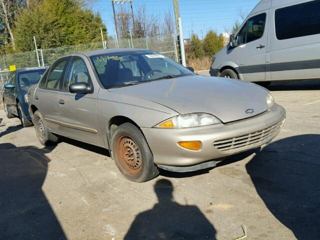 1997 chevrolet cavalier for sale at copart china grove nc lot 50278877 salvagereseller com salvagereseller com