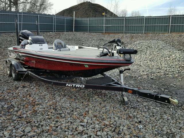 Salvage 2013 Nitrous BOAT&TRLR for sale