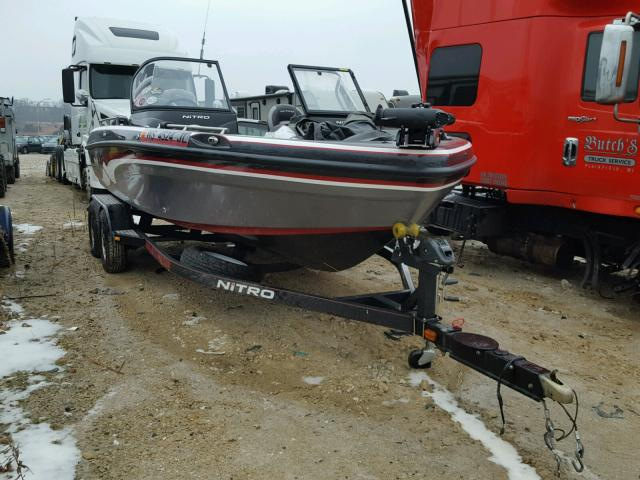Salvage 2015 Tracker BOAT for sale