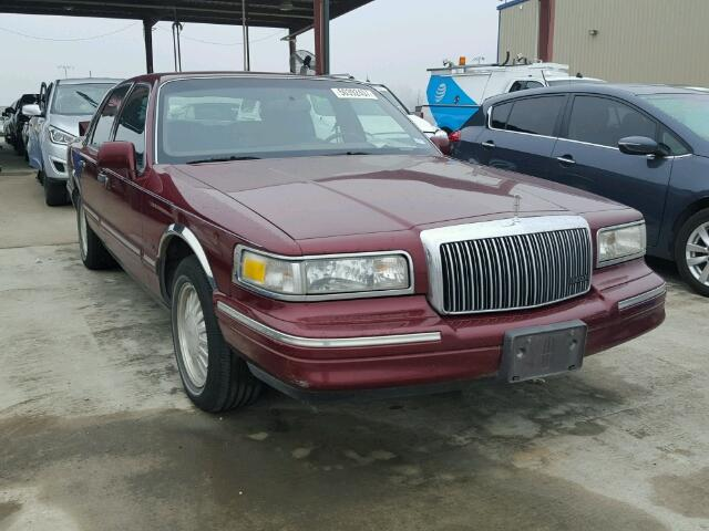 Auto Auction Ended On Vin 1lnlm83w1vy639900 1997 Lincoln Town Car C