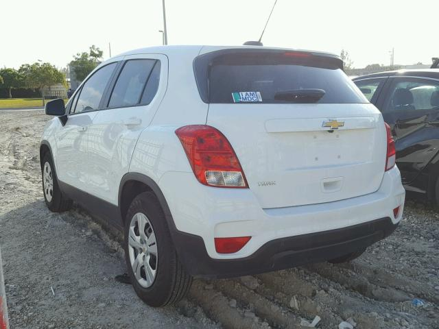 2017 Chevrolet Trax Ls Photos Fl Miami Central Salvage Car