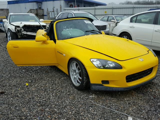 Auto Auction Ended On Vin Jhmap11432t001330 2002 Honda S2000 In Al