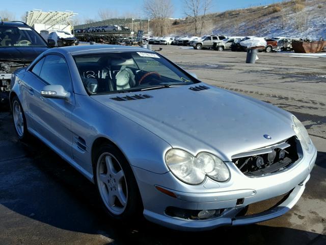 2003 MERCEDES-BENZ SL 500R 5.0L