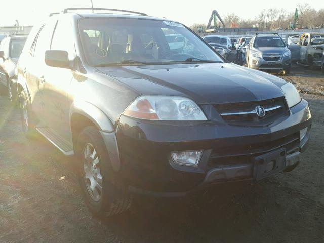 Salvage 2002 Acura MDX for sale