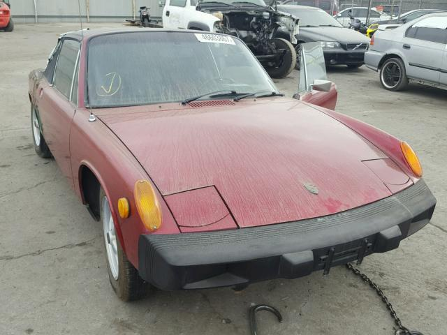 Auto Auction Ended on VIN: 4752903822 1975 Porsche 914 in CA