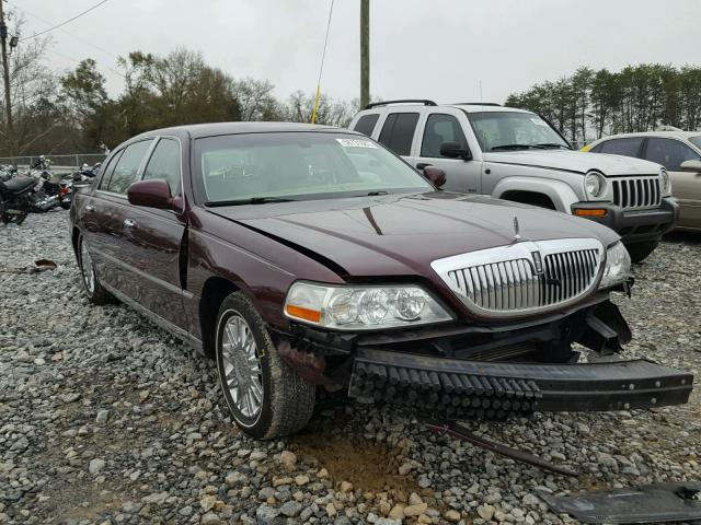 2008 Lincoln Town Car Signature Long Wheelbase Photos Salvage Car