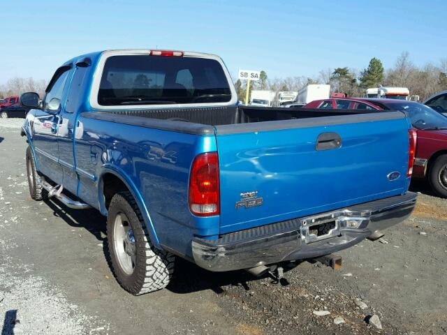 1ftrx18l0wnb31206 1998 blue ford f150 on sale in nc for 1998 ford f150 motor for sale