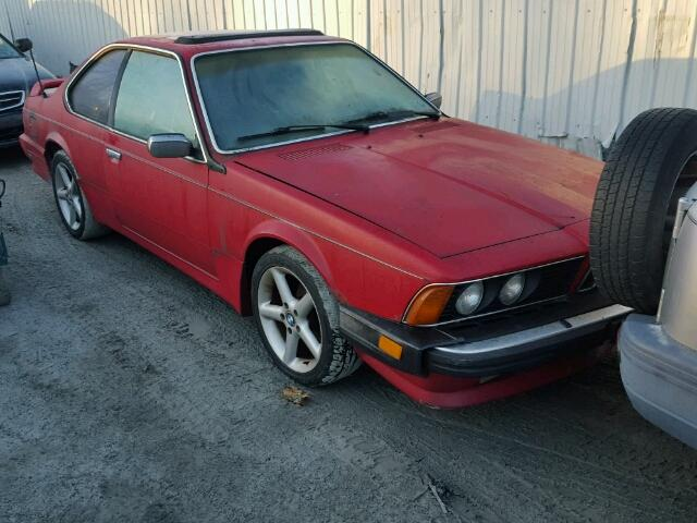 Auto Auction Ended On VIN WBAECH BMW CSI In - 635 bmw