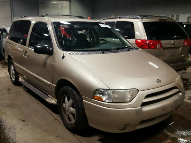 2001 Nissan Quest Se 3 3l 6 For Mn Minneapolis North Vin 4n2zn16t11d826069