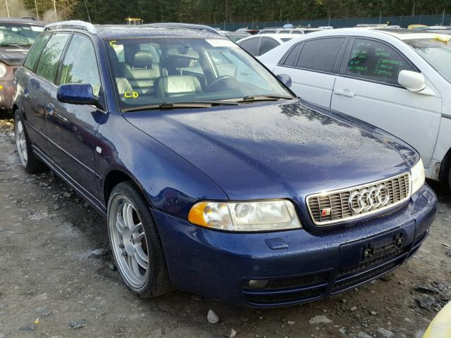 Auto Auction Ended On VIN WAUXDDA AUDI S AVANT Q In - 2002 audi s4