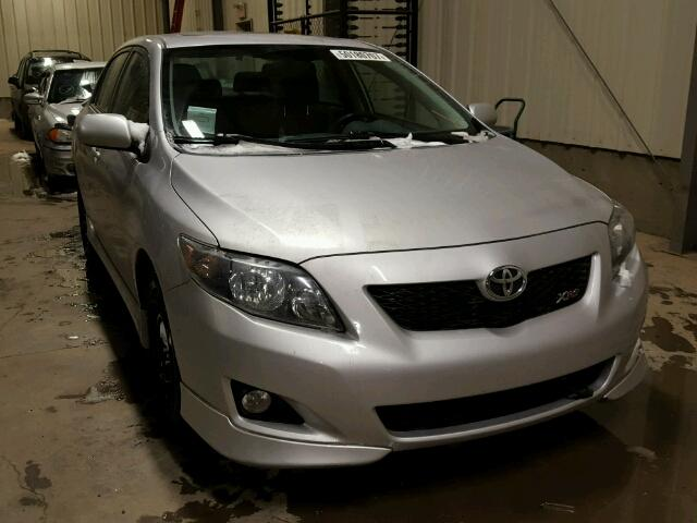 2010 toyota corolla xrs for sale ab calgary salvage cars copart usa. Black Bedroom Furniture Sets. Home Design Ideas