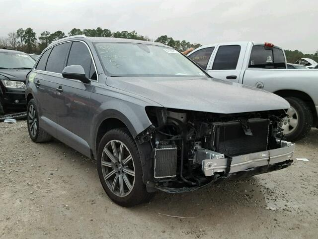 2017 audi q7 prestige for sale tx houston salvage. Black Bedroom Furniture Sets. Home Design Ideas